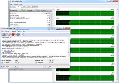 AccentPPR engages all CPU cores