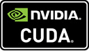 Supports NVIDIA CUDA technology
